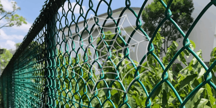 pvc chain link fence Progress Abms