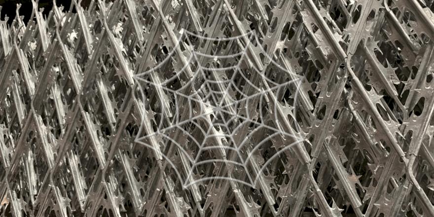 razor barbed mesh stack for Progress Abms