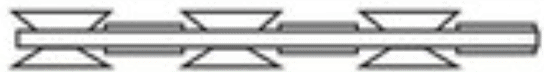Concertina wire blade forms